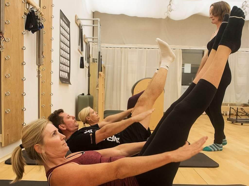 Private & Small Group Pilates Training.